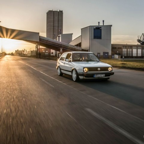 VW Golf 2 on Tour